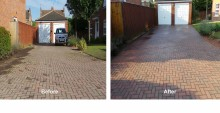 Clean 143 driveway cleaning